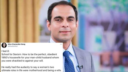 Twitter rightfully tells Qasim Ali Shah that women are more than just wives and mothers