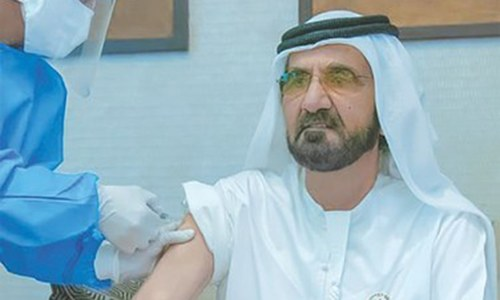 Dubai ruler joins coronavirus vaccine trial