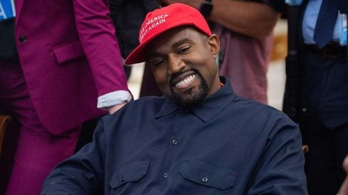 Kanye West votes for himself as next US President
