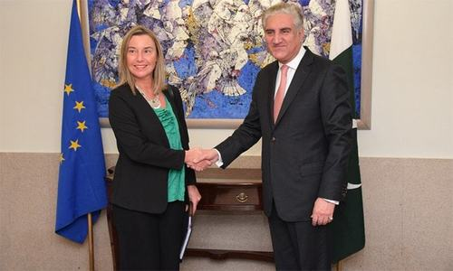 Pakistan-EU security dialogue next year
