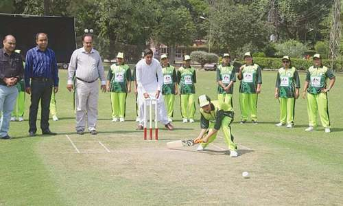 Camp for blind women cricketers begins today
