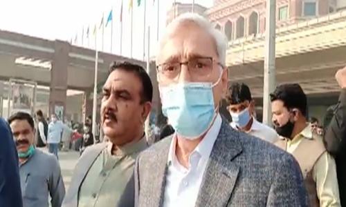 Jahangir Tareen returns to Pakistan from UK