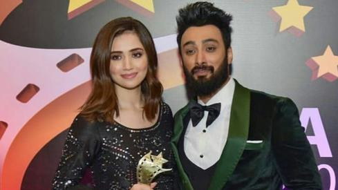 Umair Jaswal got into trouble for not dressing appropriately for his engagement