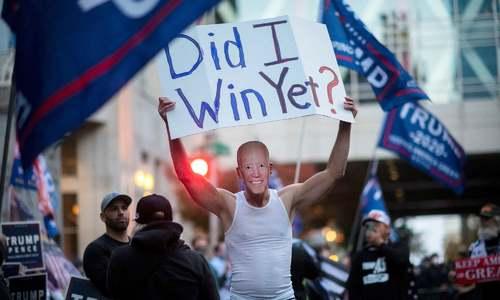 White House in reach for Biden as he takes leads in Pennsylvania, Georgia