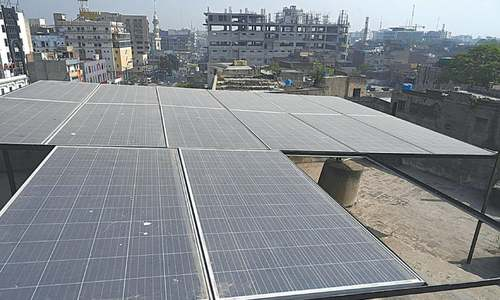 Solar power to the rescue?
