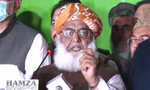 It is understood whom 'establishment' refers to, clarifies Maulana Fazl as PDM leaders chalk out future strategy