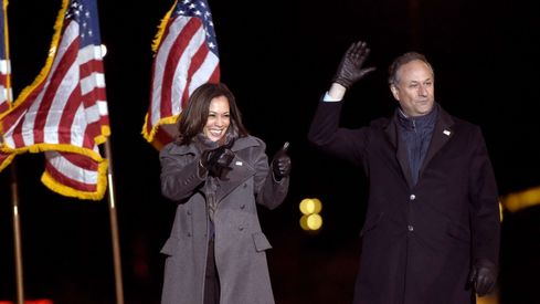 In the US, it's not just Kamala Harris breaking stereotypes — it's also her husband
