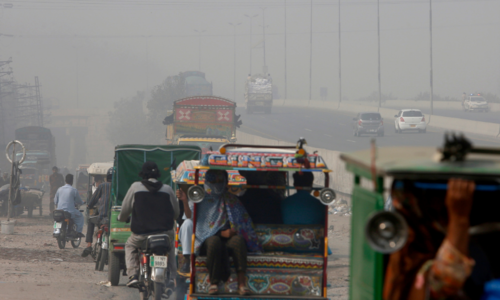 Lahore, Abbottabad see peak pollution as coronavirus surges