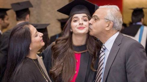 My parents are very supportive of my career choices, reveals Mawra Hocane
