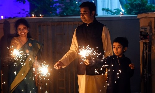 In pictures: Diwali celebrated across South Asia amid pandemic, pollution fears