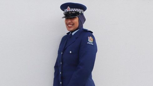 Meet New Zealand's first policewoman to wear a hijab as part of uniform
