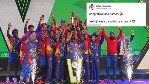 All the emotions bursting on social media as Karachi Kings became the new PSL champions