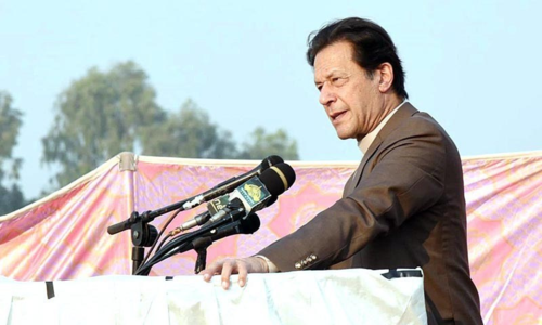 Imran warns of total lockdown if rallies continue
