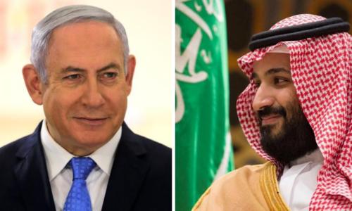 اسرائیلی وزیر اعظم کا سعودی عرب کا دورہ، ولی عہد سے ملاقات