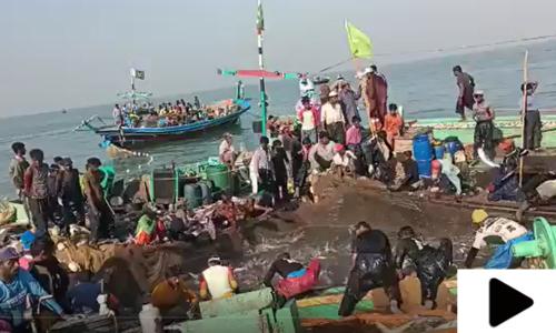 کراچی میں ماہی گیروں کی قسمت چمک اٹھی