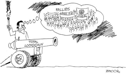 Cartoon: 24 November, 2020