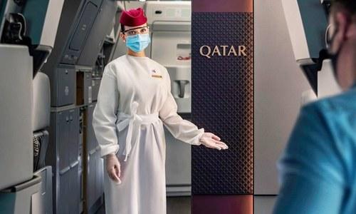 قطر: ایئرپورٹ کے باتھ روم میں بچہ پھینک جانے والی خاتون مل گئیں