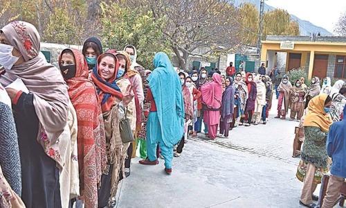 گلگت بلتستان اسمبلی کی 33 نشستوں کا سرکاری نتیجہ جاری، پی ٹی آئی کی 16 نشستیں
