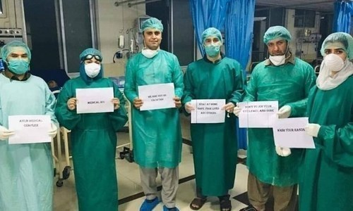 'ملک میں طبی عملے کے 10 ہزار سے زائد افراد کورونا سے متاثر ہوئے'