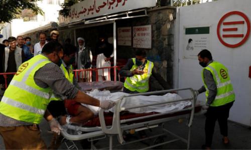 افغانستان: بم دھماکے میں ٹریفک پولیس اہلکار سمیت 14 افراد ہلاک