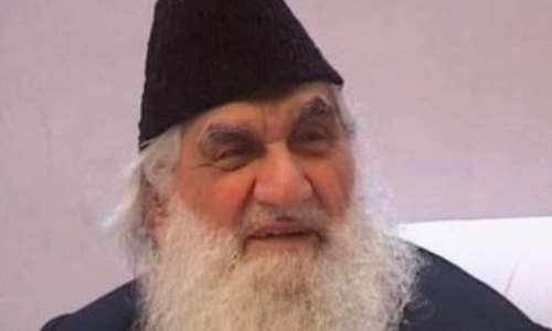 Senior journalist Pir Sufaid Shah passes away