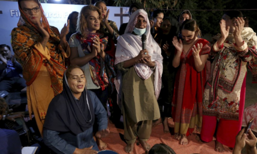 Pakistan's transgender people find solace in a church of their own