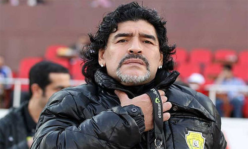 Exclusive: Maradona willing to come to Pakistan, says agent