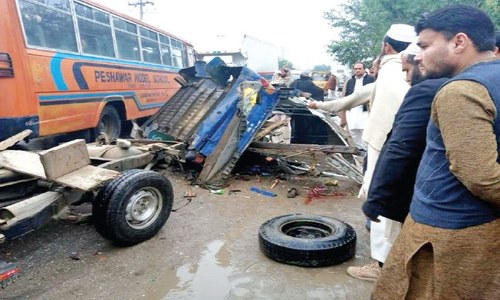 Student killed, 19 injured in Swabi accident