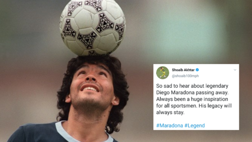'A legacy without limits': Maradona's death resonates beyond soccer as tributes to the legend pour in