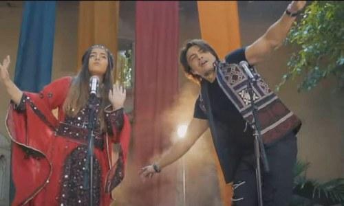 علی ظفر اور عروج فاطمہ کے سندھی لوگ گیت 'الے، ماروئڑا' کے چرچے