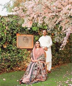 Bakhtawar engaged in simple ceremony overshadowed by pandemic