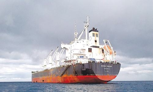Two ships with 115,500 tonnes of wheat arrive