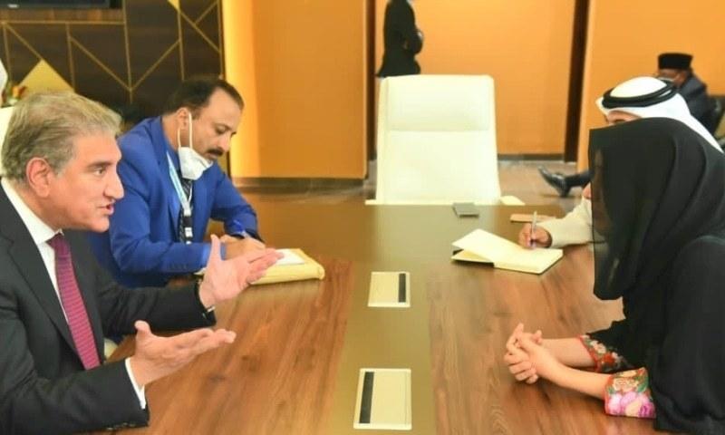 وزیر خارجہ نے اماراتی ہم منصب سے ملاقات میں ویزوں کے اجرا کا معاملہ اٹھا دیا