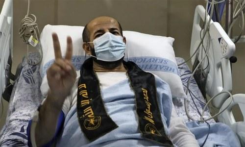 اسرائیل: 103 دن بھوک ہڑتال کرنے والا زیر حراست فلسطینی نوجوان رہا