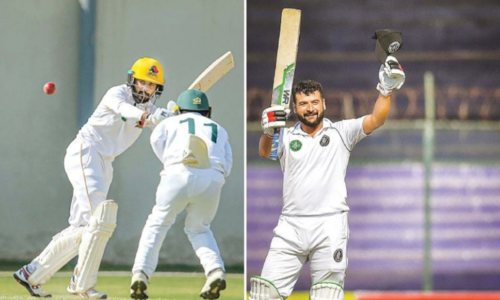 Khalid leads KP's comeback against Northern