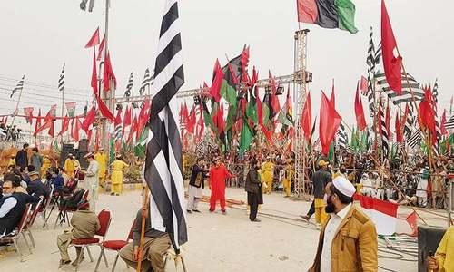 پشاور میں پی ڈی ایم کا جلسہ: احکامات کی خلاف ورزی پر سیاسی رہنماؤں کے خلاف مقدمہ