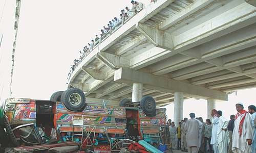 Road accidents in Karachi claimed 154 lives over last 10 months