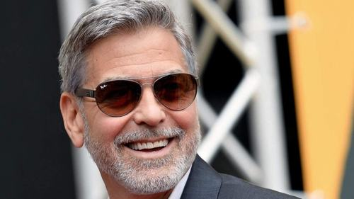 George Clooney's secret to cutting his hair