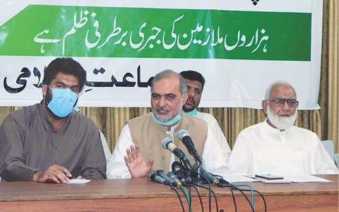 JI calls for reversing retrenchment of PSM workers