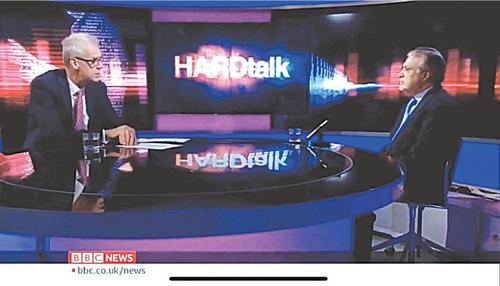 Ishaq Dar grilled in BBC interview about his assets