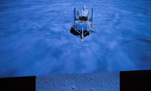 China successfully lands spacecraft on moon to retrieve lunar rocks