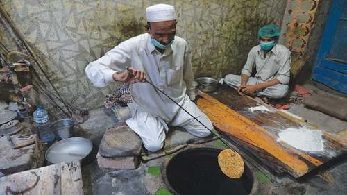 This naan shop in Lahore was set up in pre-partition Pakistan