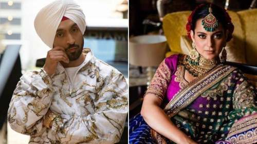 Diljit Dosanjh and Kangana Ranaut spar on Twitter over farmer's protests in India