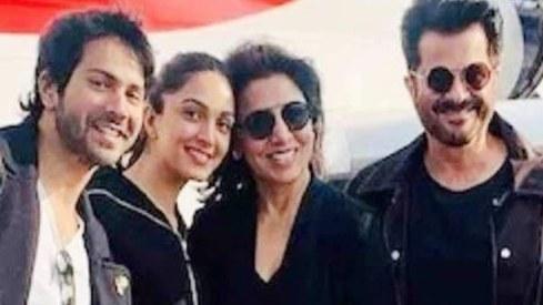 Varun Dhawan, Neetu Kapoor test positive for Covid-19 on set