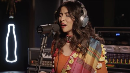 Meesha Shafi's powerful vocals open Coke Studio 2020 with a bang