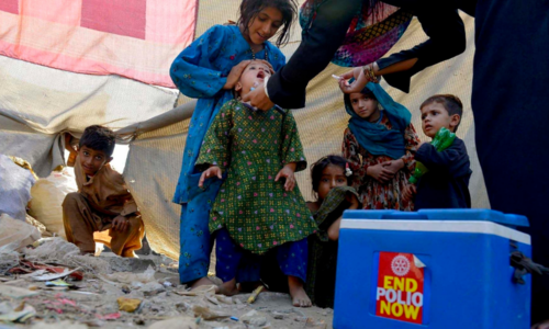 98pc of polio drive target achieved in KP