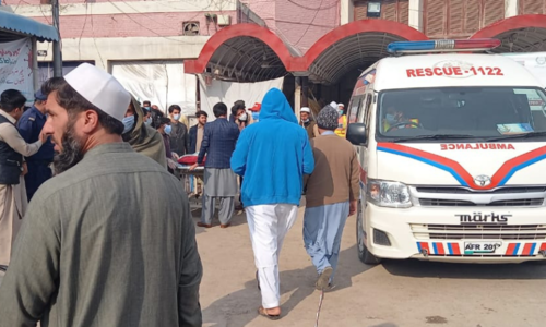 Six coronavirus patients at Peshawar's Khyber Teaching Hospital die as oxygen supply runs out