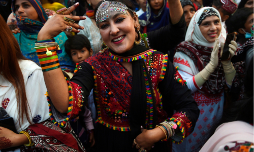 In pictures: Jubilant crowds gather across Sindh to celebrate Culture Day
