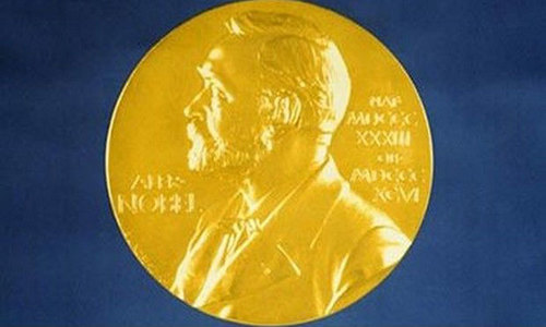 Nobel laureates to receive their prizes at home