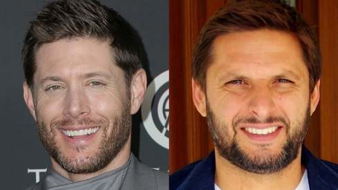 Are Shahid Afridi and Jensen Ackles doppelgangers? Twitter sure thinks so